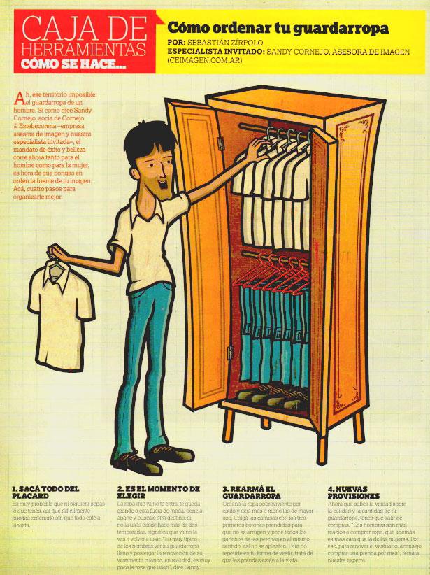 Como ordenar tu guardarropa